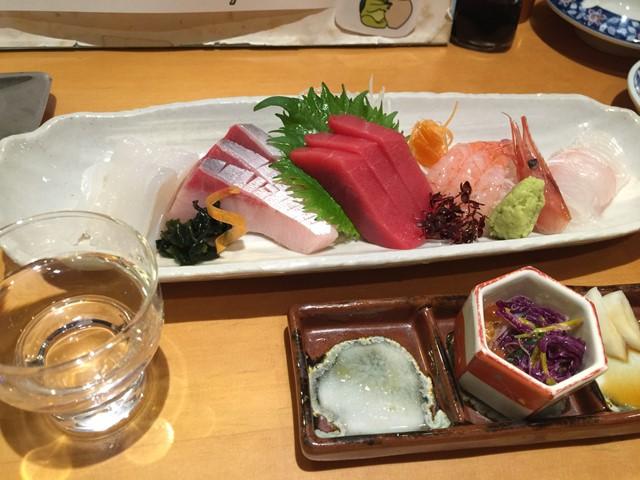 新潟でおいしい魚と日本酒にしたづつみ
